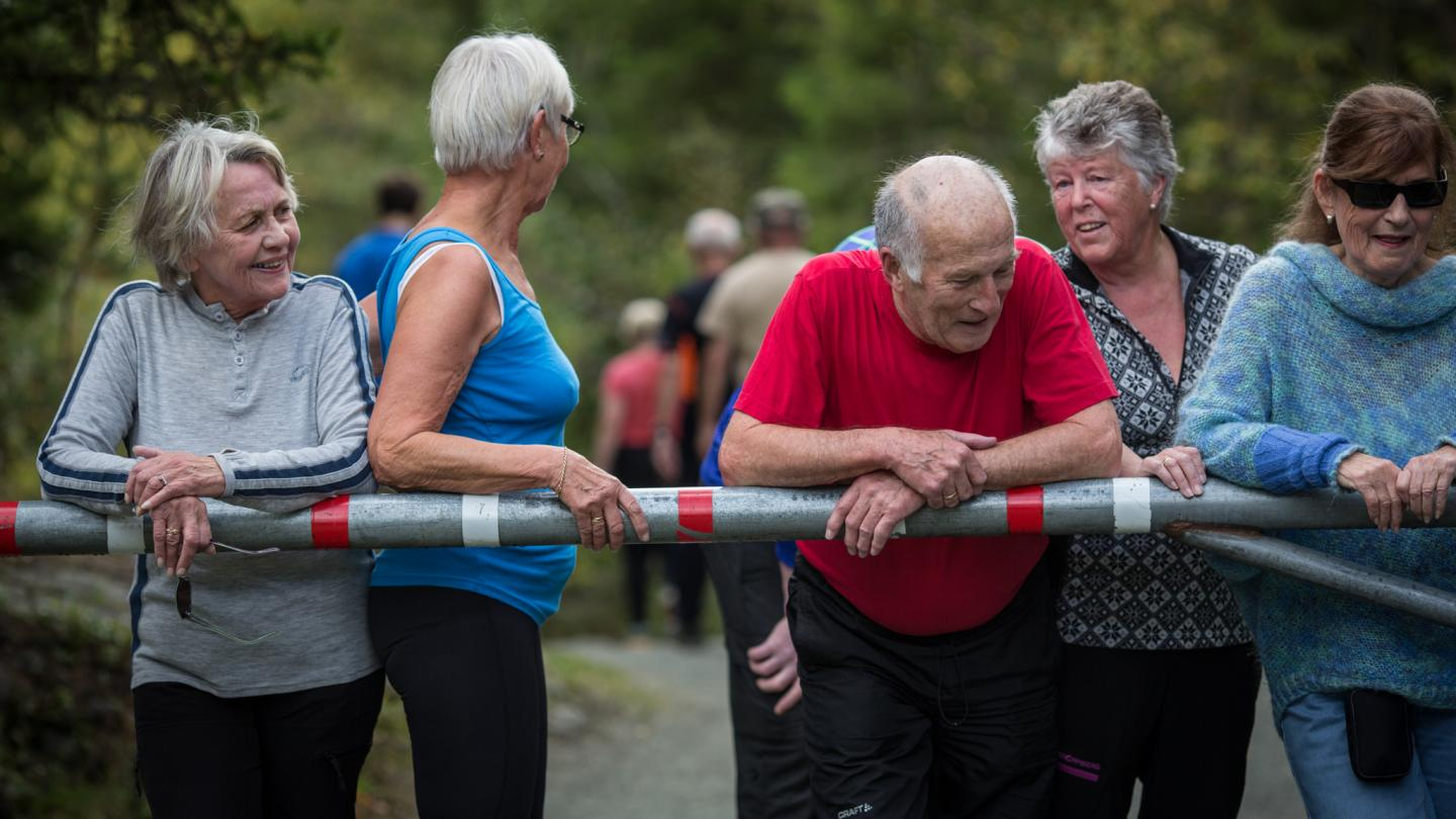It's always important to stay fit, but even more so when you are older -- especially to avoid an increased risk of cardiovascular and lifestyle diseases that is linked to being sedentary. Credit: Erlend Lånke Solbu, NRK