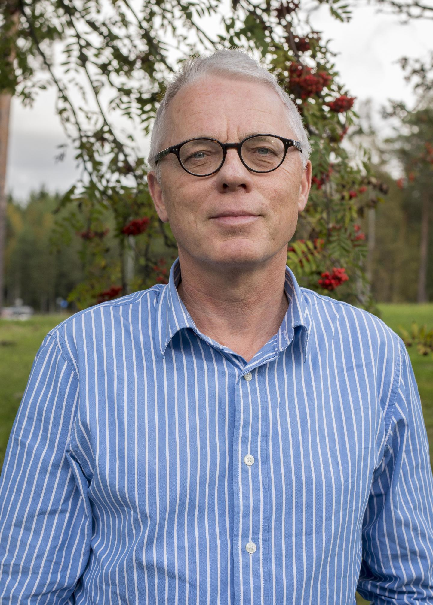 This is Mats Eliasson, professor at the Department of Public Health and Clinical Medicine as well as doctor at Sunderby Hospital in Luleå in northern Sweden.