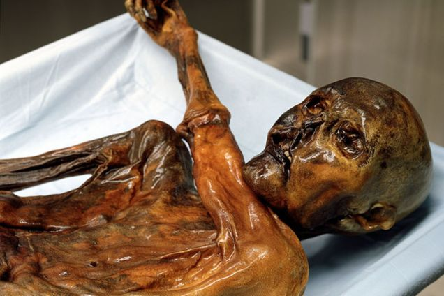Ötzi lived about 5,300 years ago.