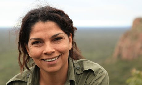 Erika Cuéllar, a Bolivian conservation biologist. Photo: The Guardian