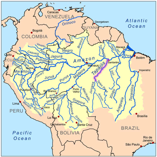 The São Luiz do Tapajós dam's reservoir would have encompassed 72,225 hectares (278 square miles), part of it flooding Munduruku territory. Brazil still has plans to build 43