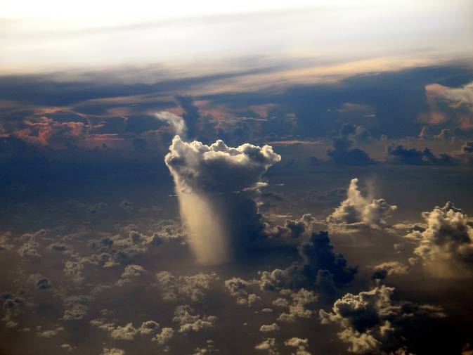 Giant storms clouds are forming more frequently and bringing more rain