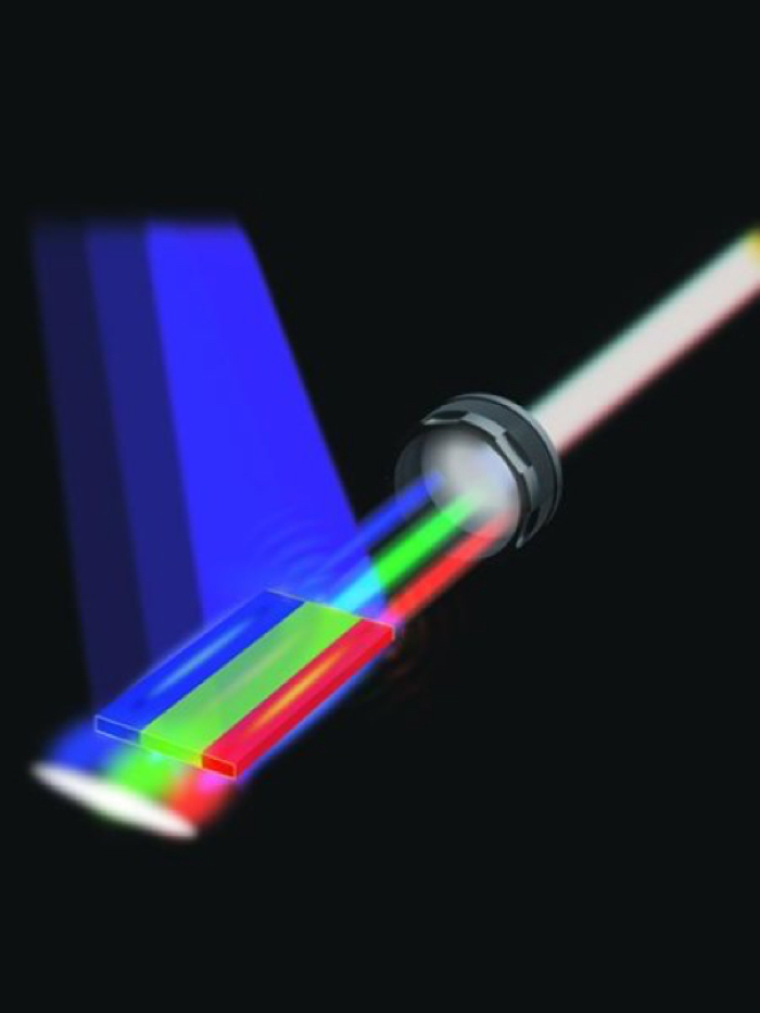 A white laser has been achieved by combining multiple color diodes, but there is still more work to be done.