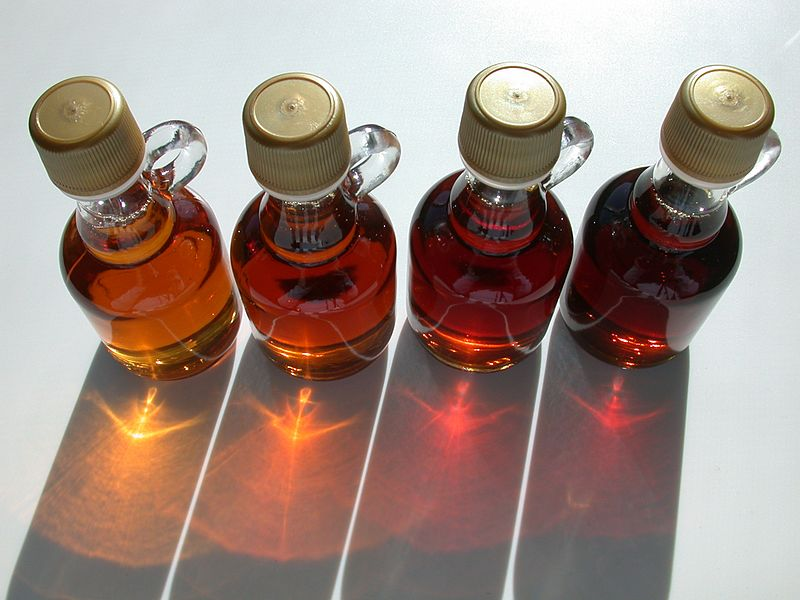 Grades of Vermont maple syrup