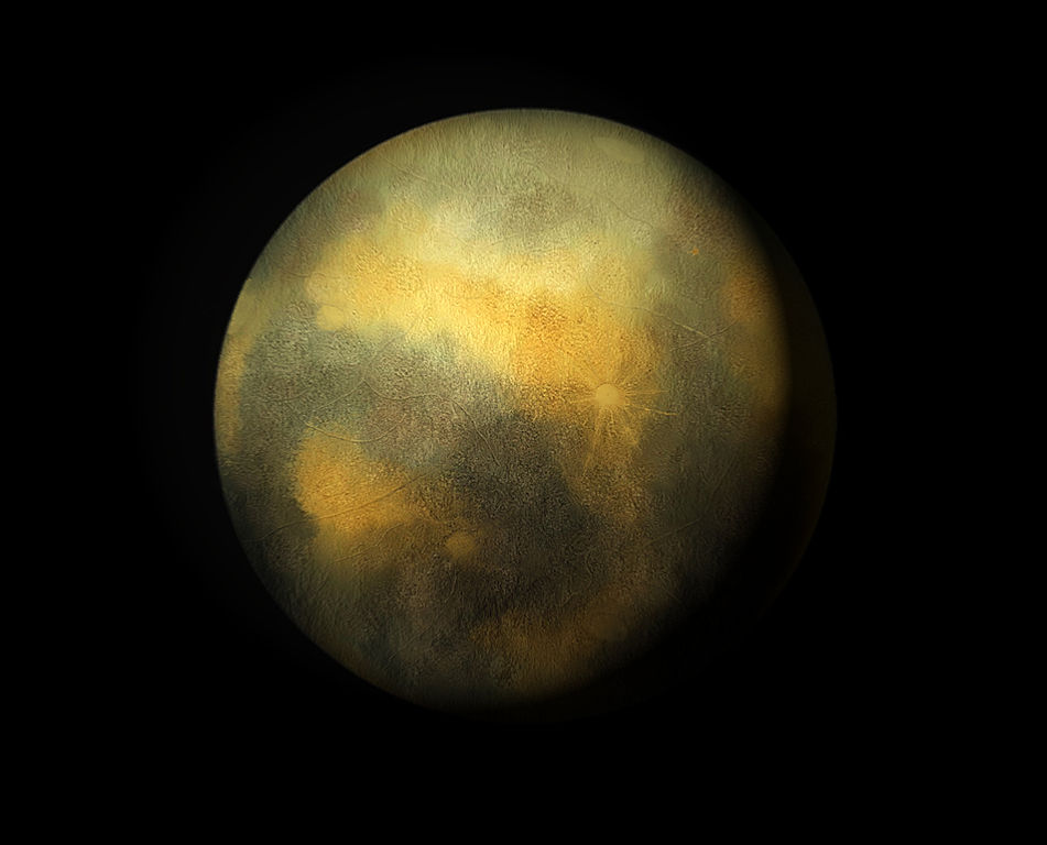 An artist's rendition of what Pluto might look like. Scientists will know soon how close it is to this illustration