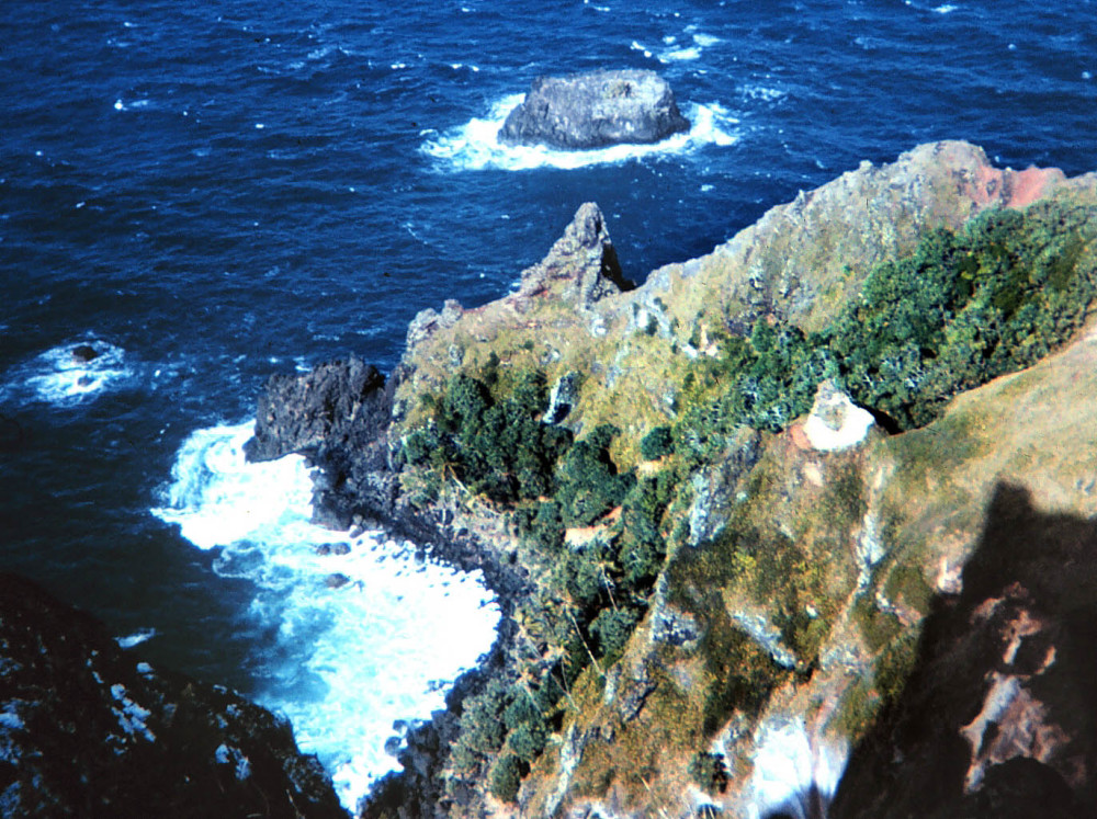 St. Paul's pool on Pitcairn Island