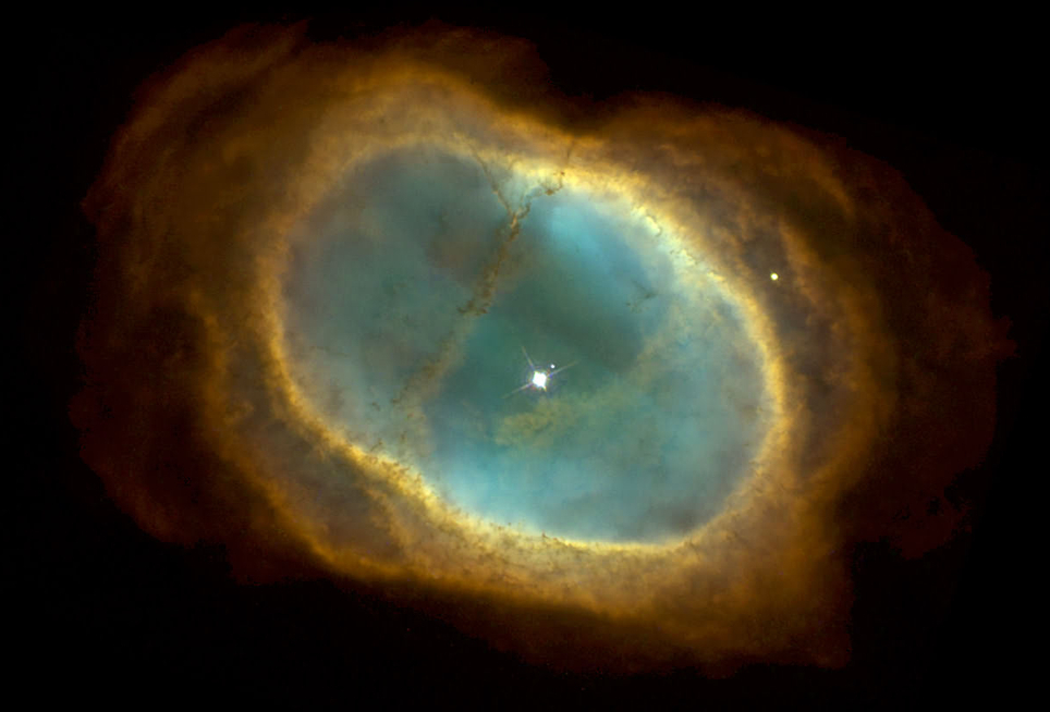 Amazing view of the Southern Ring Nebula, taken by the Hubble Space Telescope