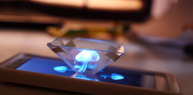 Using some household items and your smartphone, you can create your own hologram illusion.