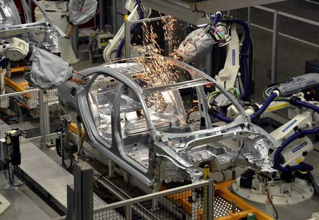 An automotive manufacturing robot has reportedly led to the death of a young contractor.