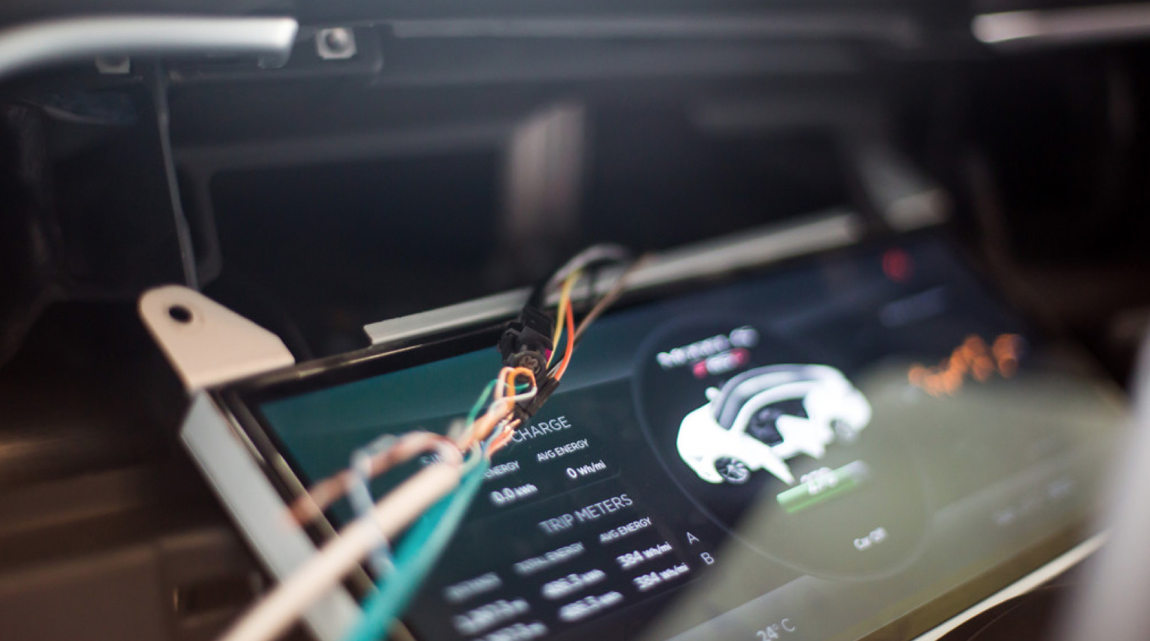 The expensive Tesla's Model S automobile is vulnerable to hackers.