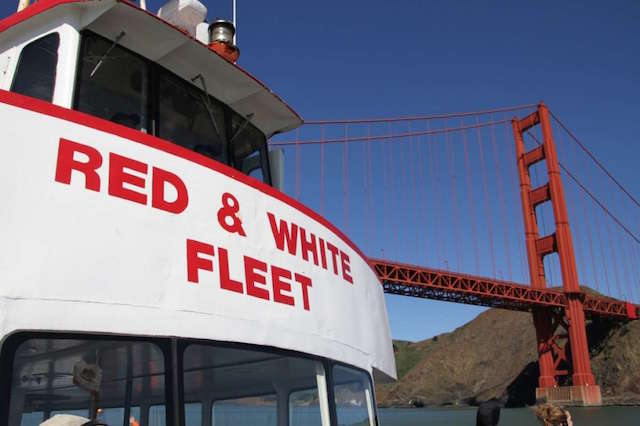 One of today's Red and White Fleet ferries
