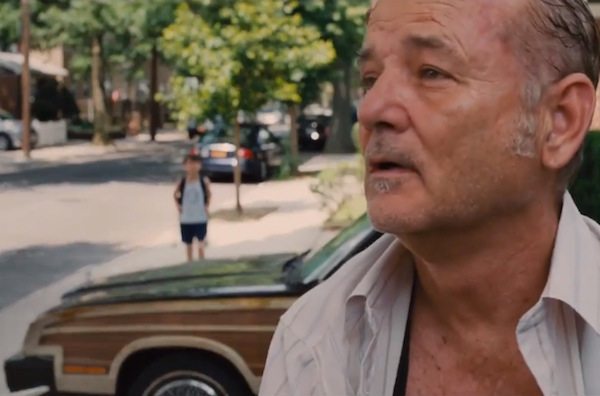 Bill Murray seeks out improvised situations.