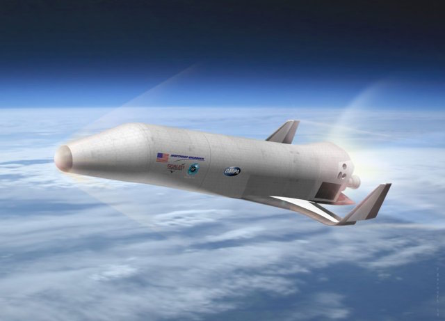 An artist's impression of one possible configuration of DARPA's XS-1