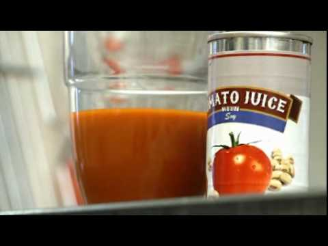 A tomato-soy juice beverage  was developed by researchers at Ohio State to help reduce the risk of prostate cancer.