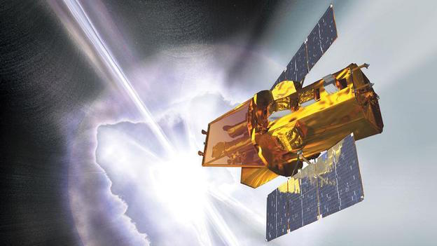 NASA's Swift satellite detects gamma ray burst that could wipe out life here on Earth