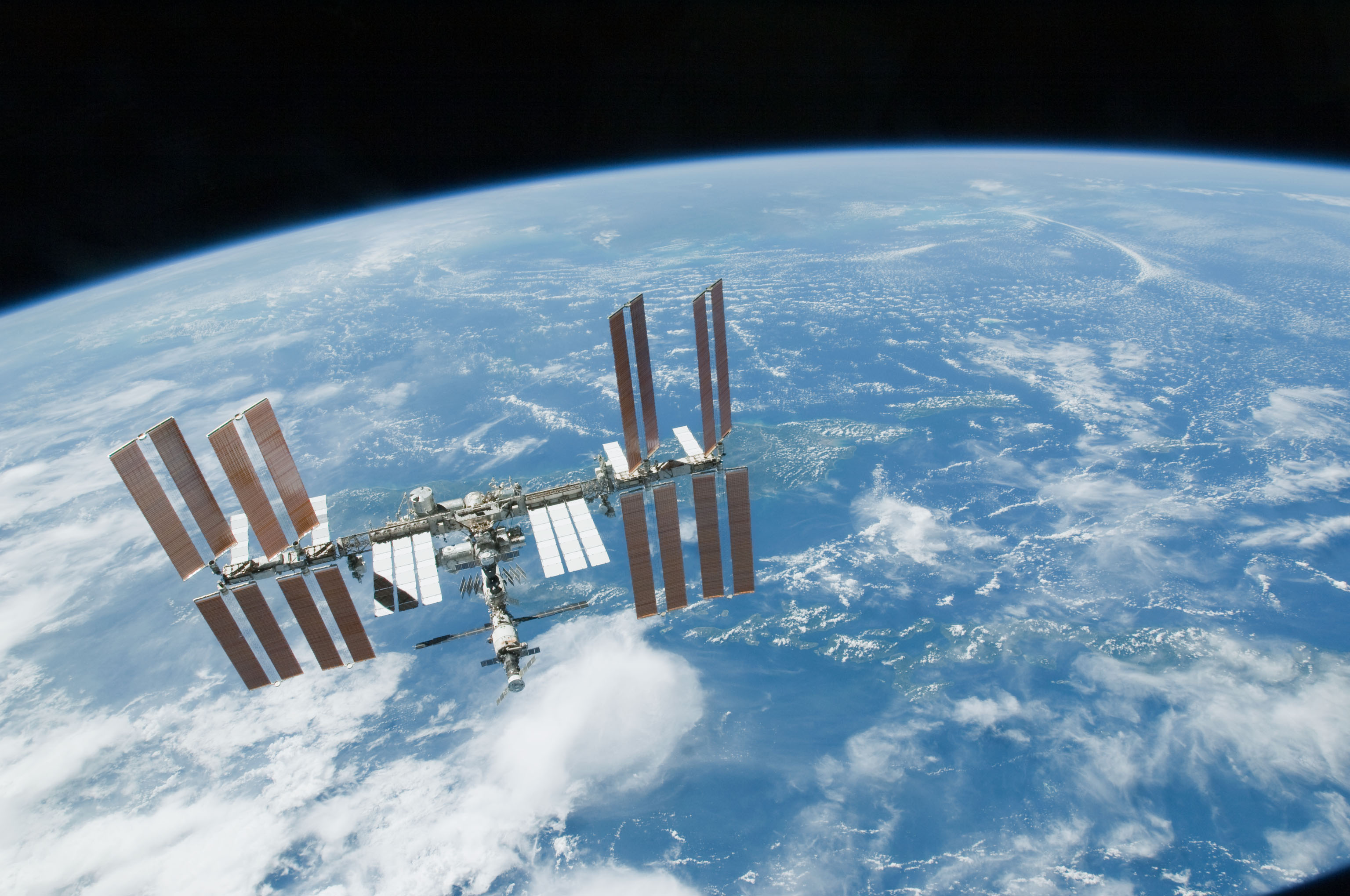 International Space Station members were forced to take emergency shelter Thursday morning.
