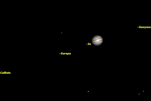 Jupiter is well-placed for viewing during April 2015. It is in the constellation Cancer all month and can be spotted in the evening sky.