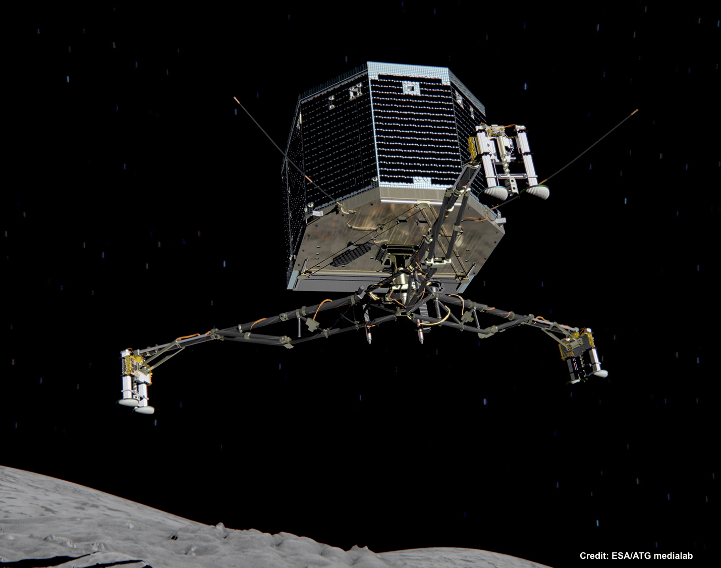 Philae has been dormant for 7 months, but was heard from 5 days ago. Now, it has been heard from again on Friday.
