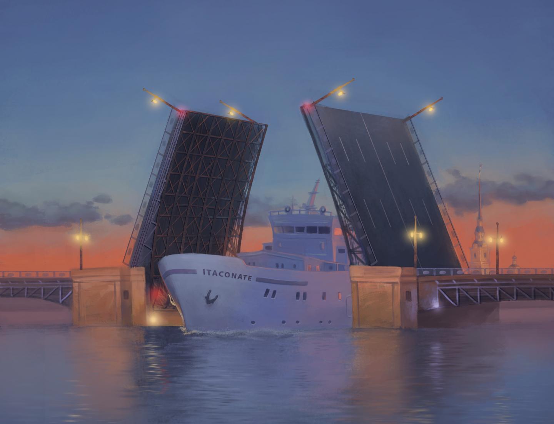 Draw-bridge depicts Itaconate disrupting the TCA cycle flow - Credit: Aleksandra Ziminova