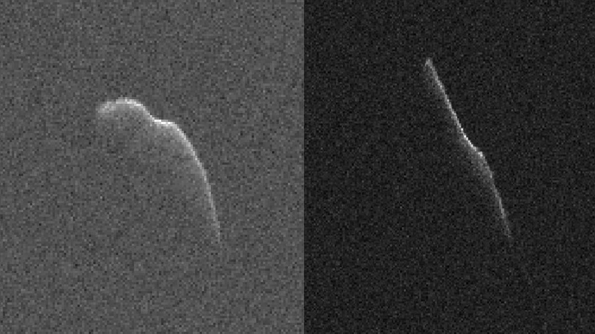 This 3600-foot asteroid passed Earth on Christmas Eve.