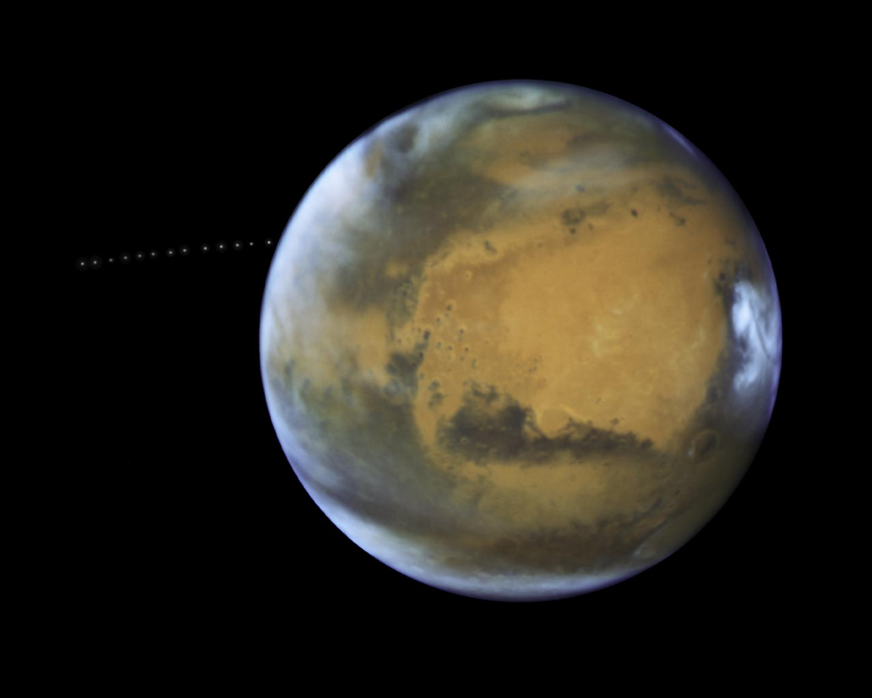 Phobos: Sneaky? Perhaps. Photobomb? Absolutely.