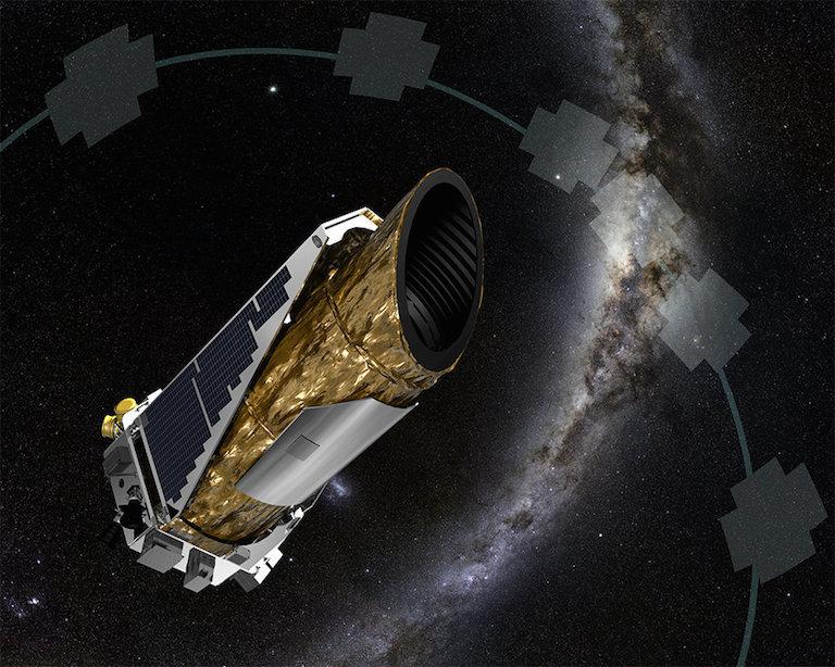 An artist's rendition of NASA's Kepler Space Telescope.