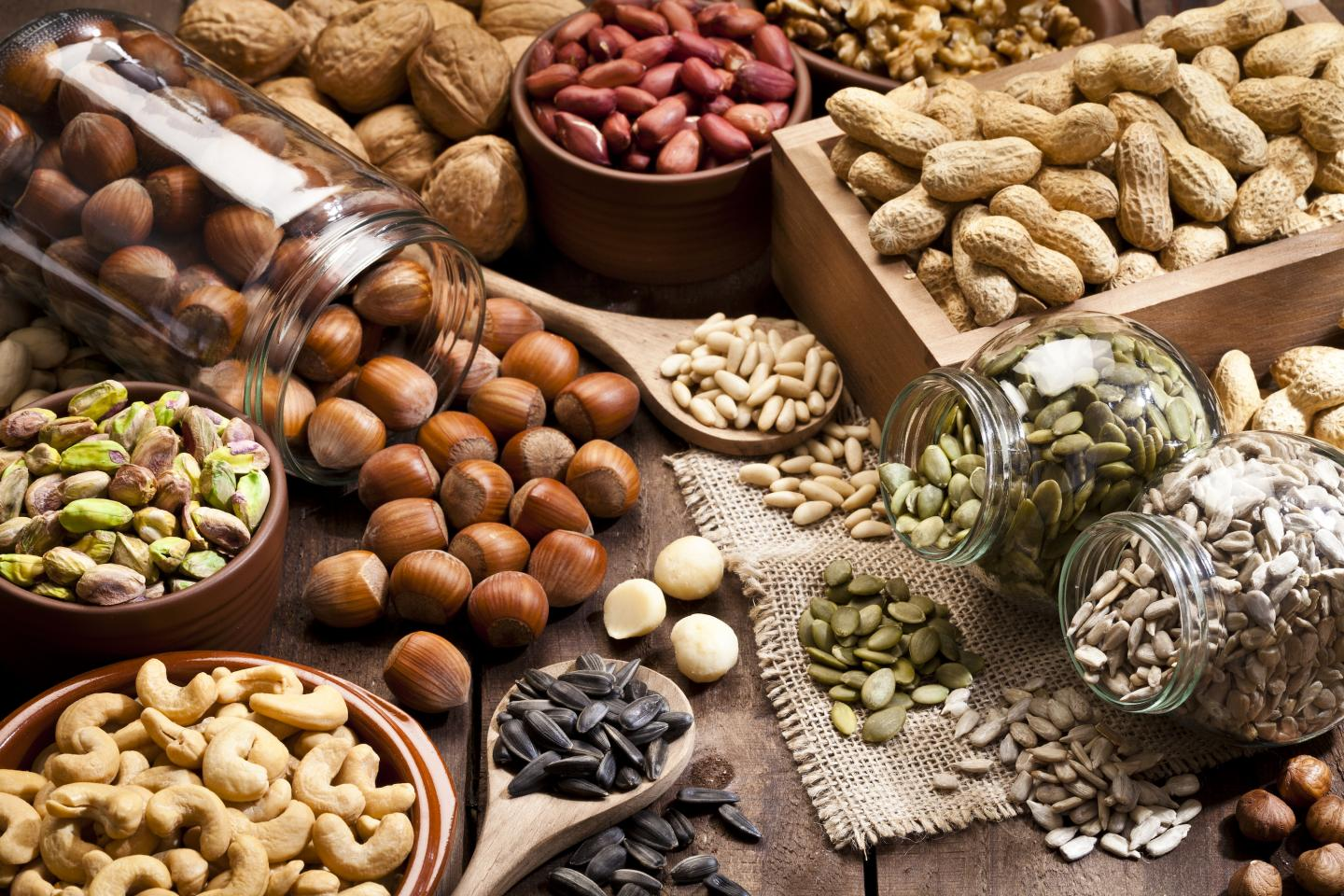 Protein from nuts and seeds are heart smart according to a new study. Credit: Loma Linda University Health