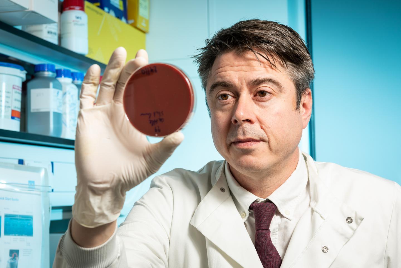 This is professor Sam Sheppard. / Credit: University of Bath