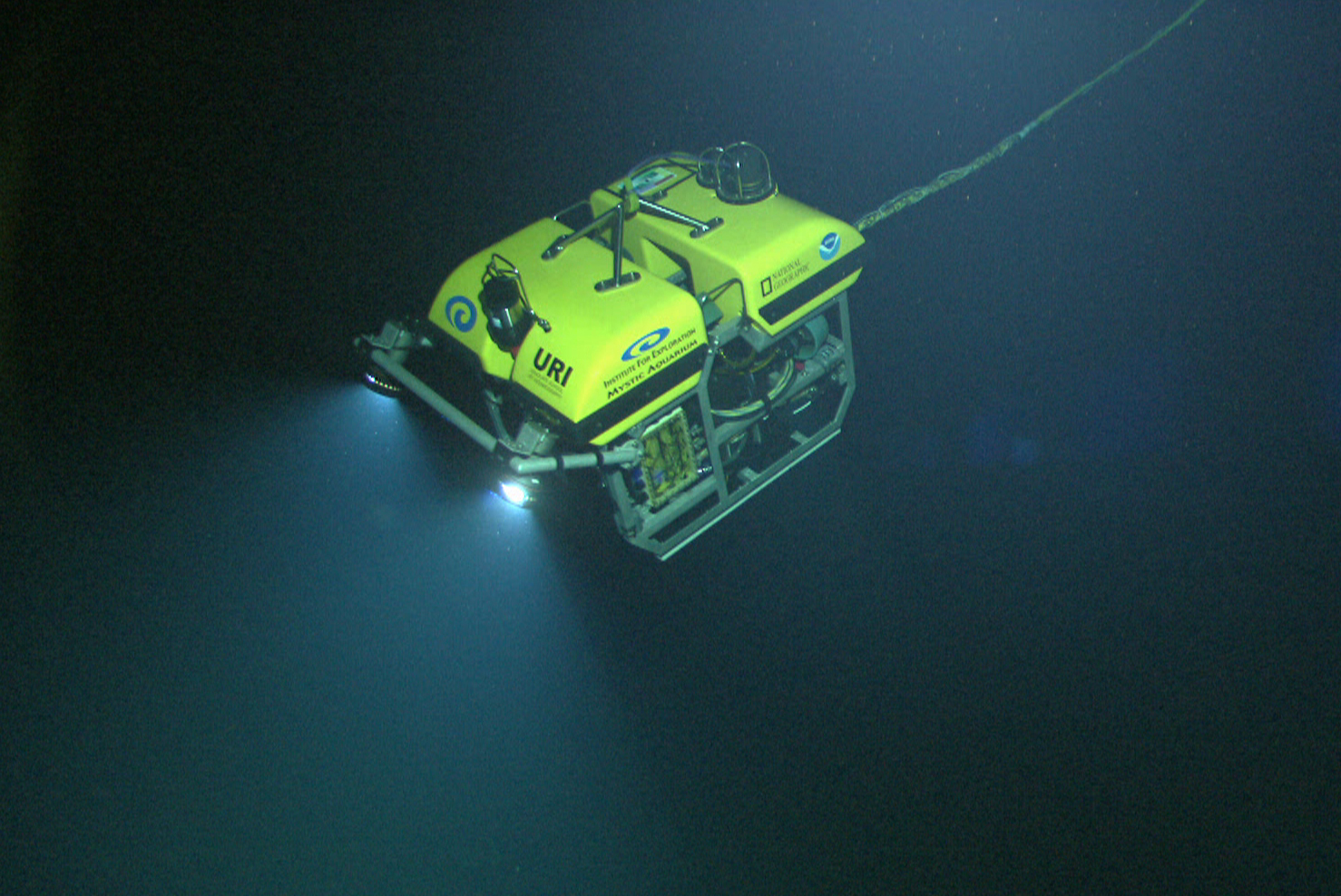 A deep-ocean exploration ROV.