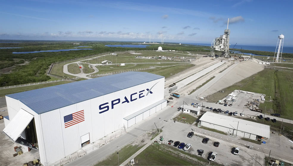 NASA prepares the Kennedy Space Center in Florida for SpaceX's future rockets and space equipment.