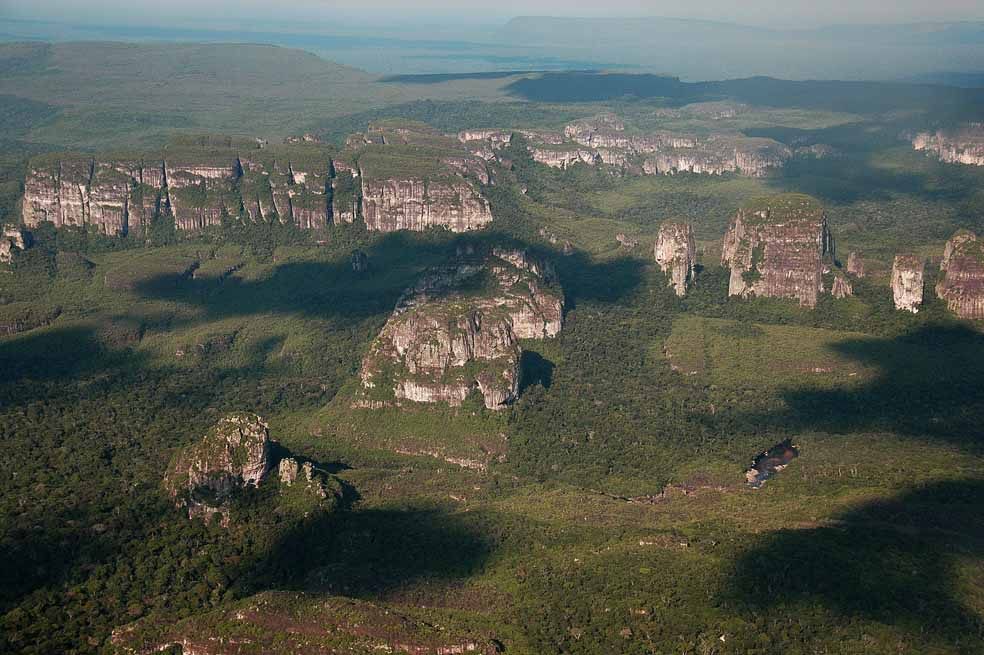 Chiribiquete is known for its unique geology and the vast biodiversity that lives there. Source: El Espectador