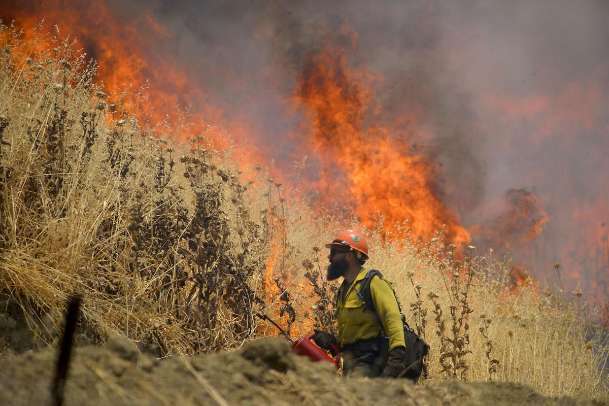 County Fire rages on. Photo: Napa Valley Register