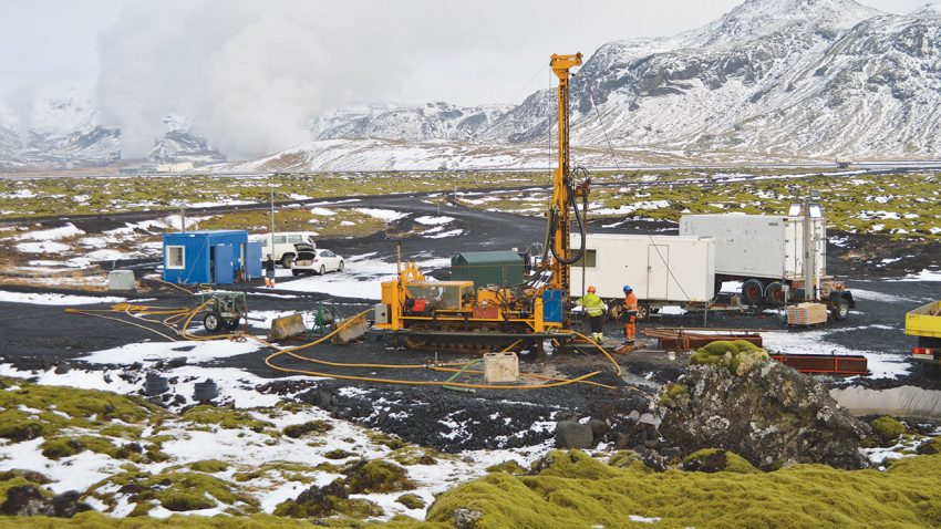 A new plant has successfully turned CO2 gas into rock by pumping it underground, in what could be a climate change breakthrough.