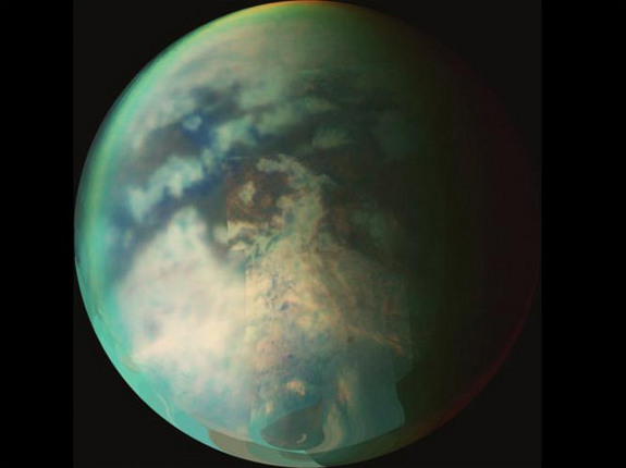 Titan is Saturn's largest moon, and it happens to be a lot like the Earth.