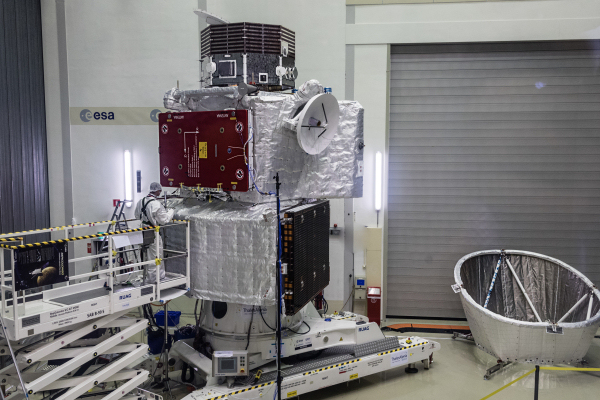Meet BepiColombo, the ESA's stacked spacecraft that will soon visit Mercury to study it in detail.