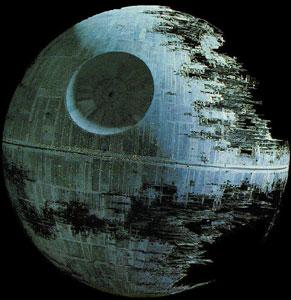 Death Star. Credit: Wikipedia