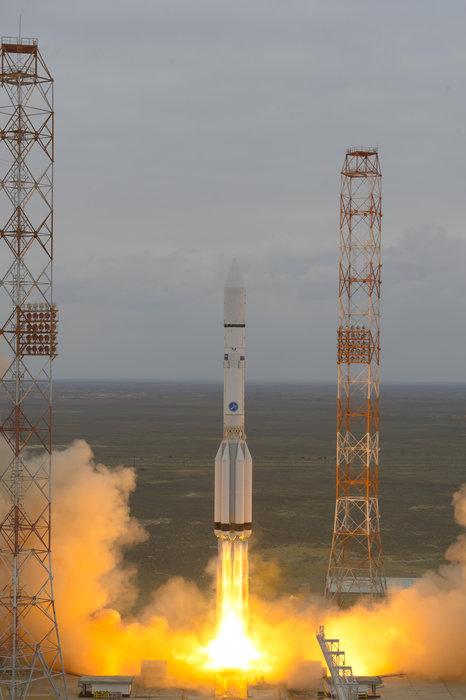 ExoMars mission blasting off from Kazakhstan.