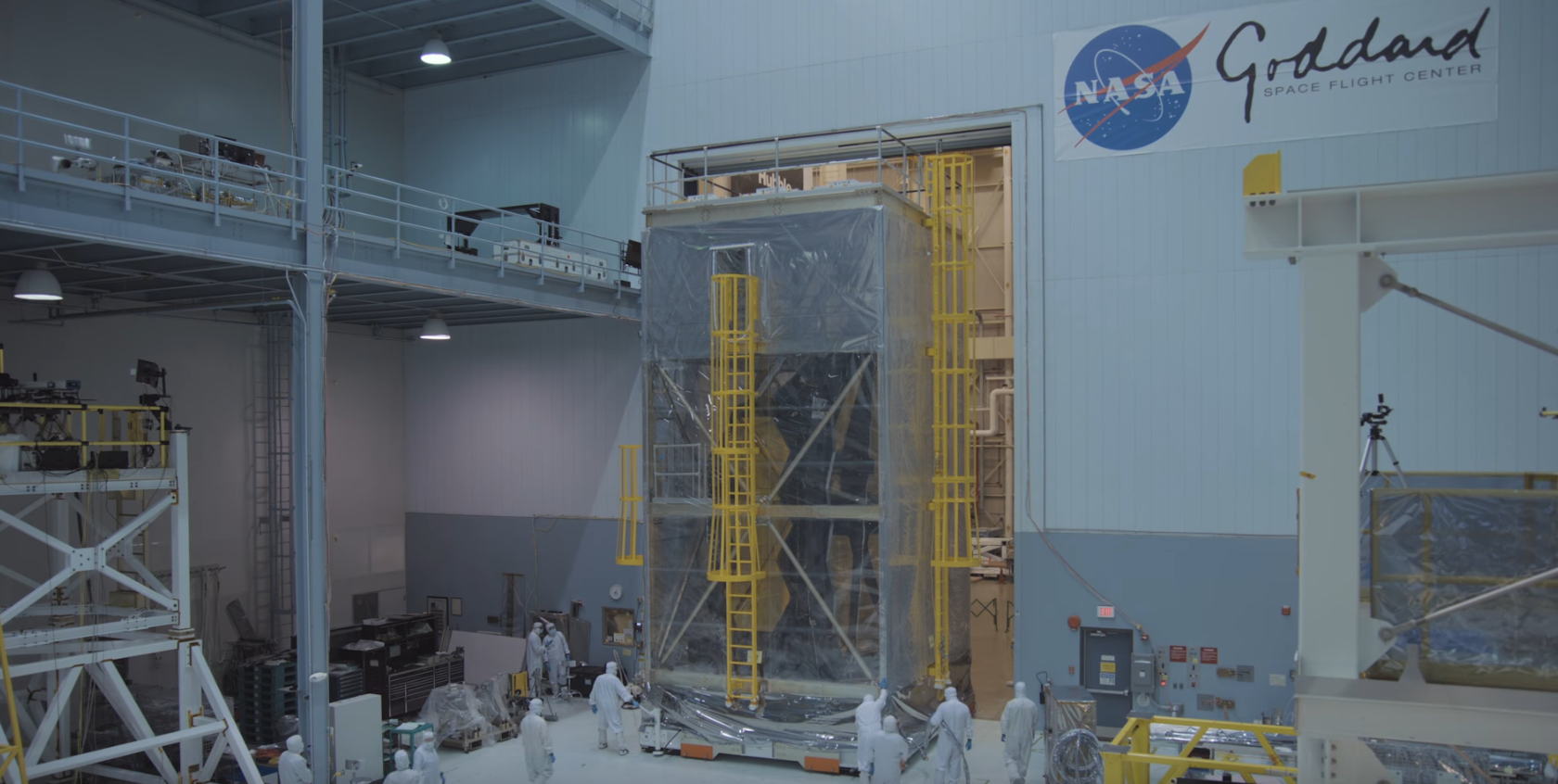 The James Webb Space Telescope just finished its vibration testing.