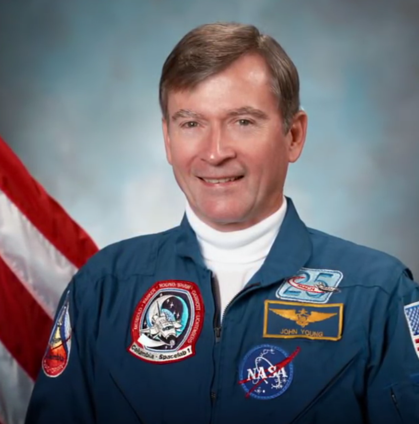 NASA astronaut John Young passed away at 87 years old on Friday.