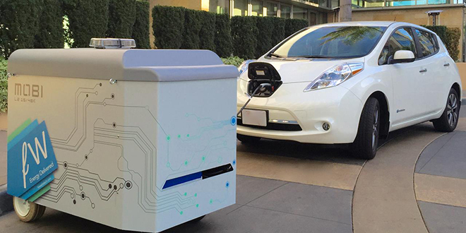 Mobi charging stations, coming soon your way! Photo: Charged EVs