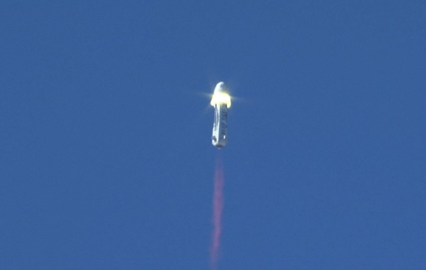 Blue Origin's New Shepard rocket came in for a successful ground landing even following the doubt against it landing successfull after the safety test.