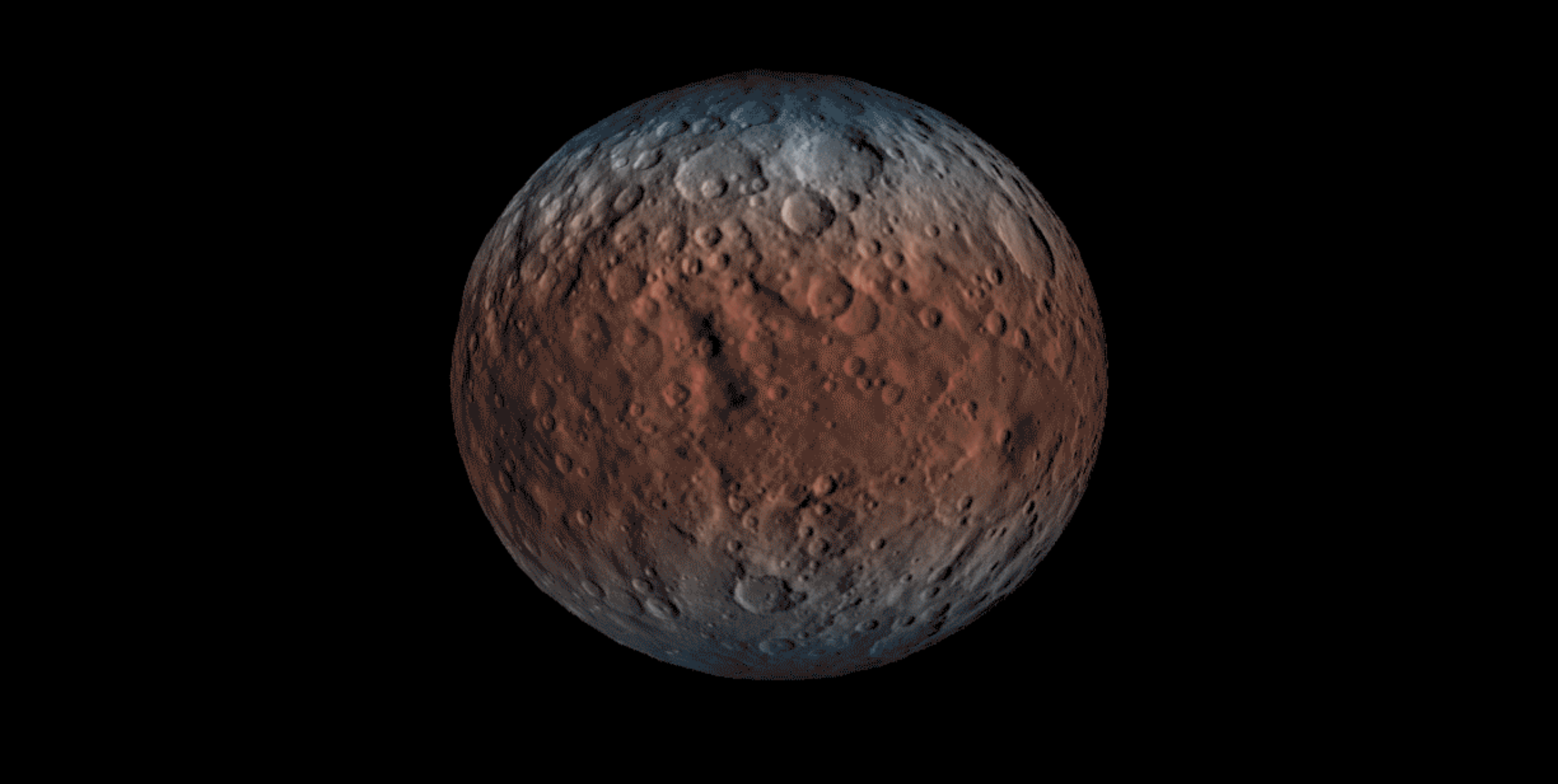 "Ceres sometimes exhibits a ""temporary"" atmosphere at its poles. But why?"