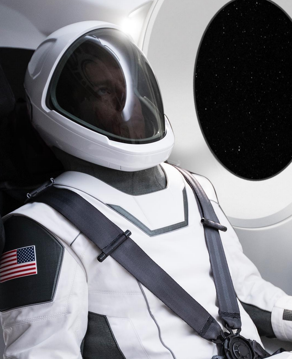 Elon Musk shared this image of a fully-functional space suit on his Instagram account this week.
