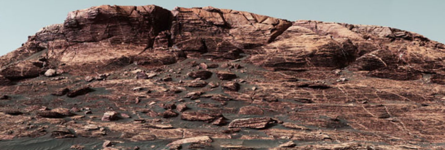 The top of Vera Rubin Ridge is Curiosity's next target.