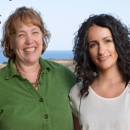 This is Kathy Jones and Conchi Estarás. / Credit: Salk Institute