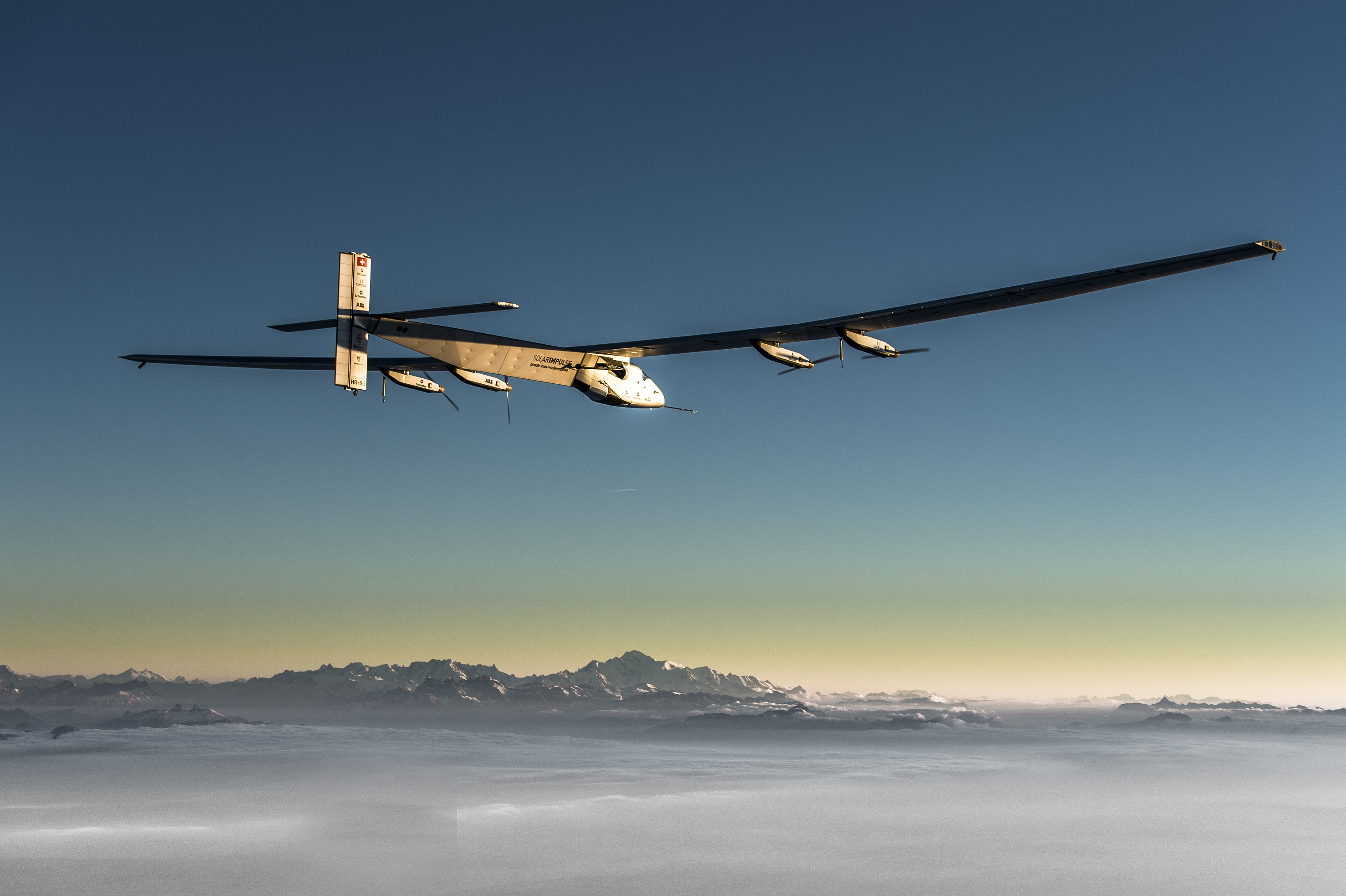 Solar Impulse is lifting off yet again for another trip.