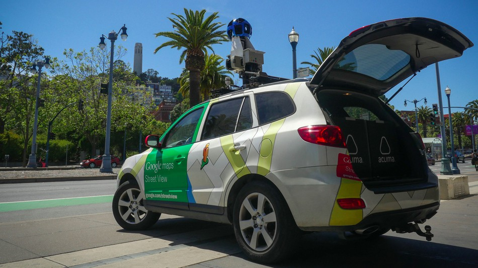 An Aclima-equipped Google Street View car in Oakland, California. Photo: ACLIMA