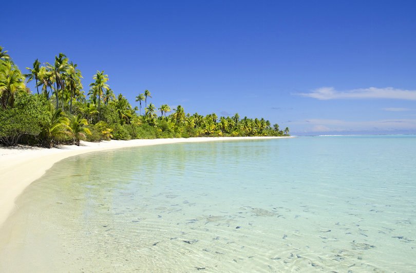 Aitutaki Atoll, in the Cook Islands. Photo: Flickr/Javier Losa via Touropia.com