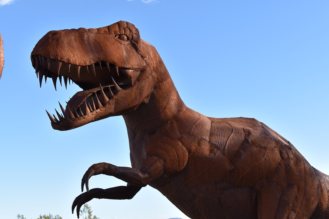 Did dinosaurs have roots in the UK region?