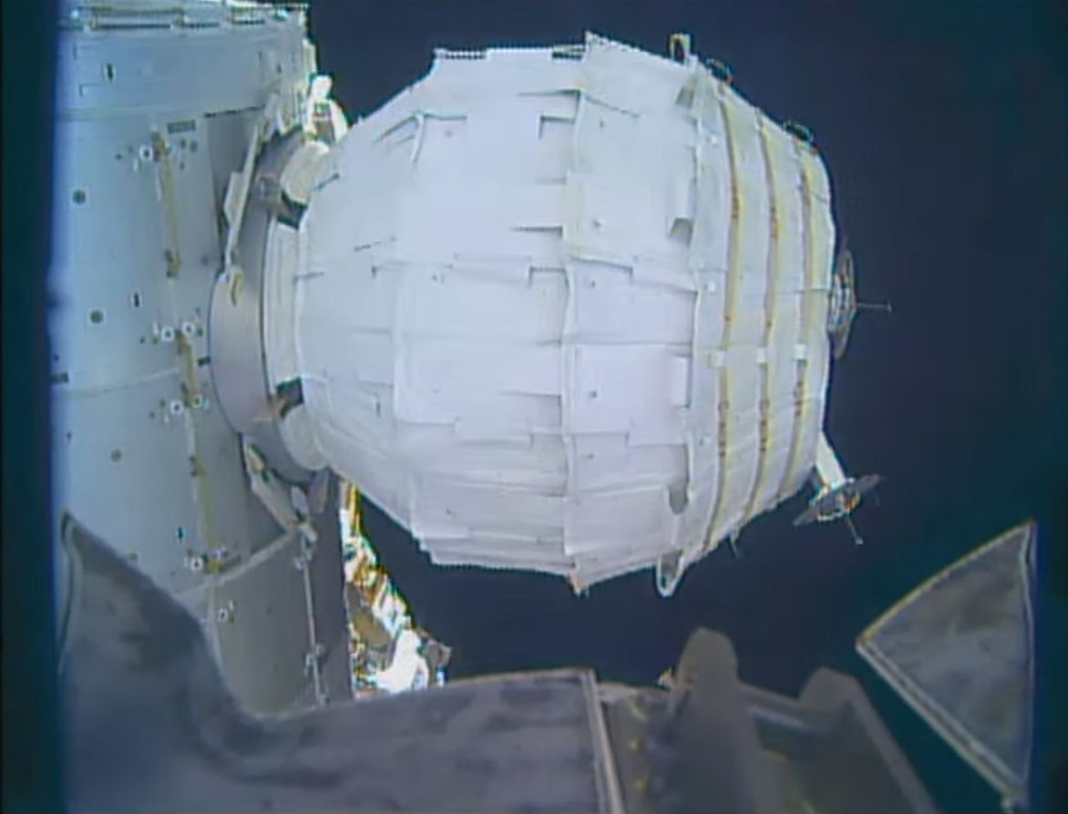 The BEAM inflatable module for the International Space Station was reportedly successful in inflating over the weekend.